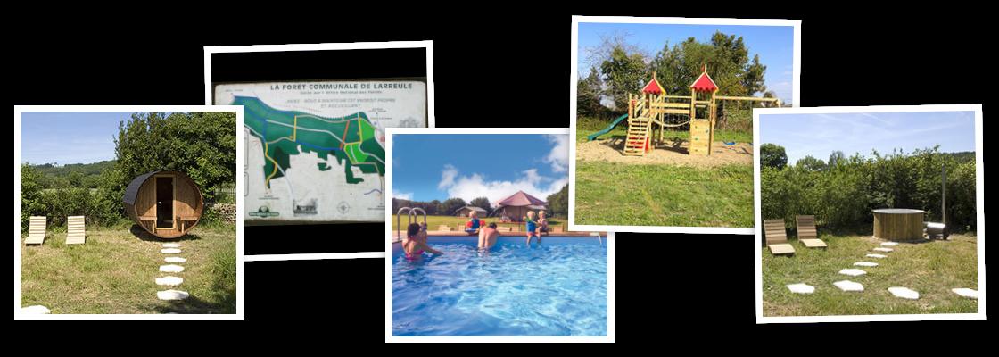Genoeg vertier en ontspanning op het terrein van Domaine Saint-Esselin